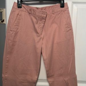 Never work light pink weekend Chino from Talbots